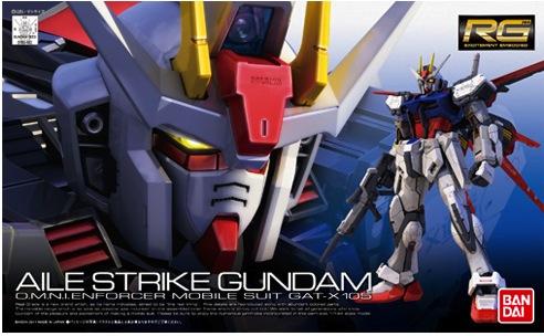 1/144 Real Grade - Aile Strike Gundam