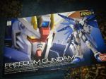 Freshly delivered! 1/144 Real Grade ZGMF-X10A Freedom Gundam