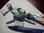 It adds the depth with Gundam Marker. Definitely will improve the looks of your Gunpla.