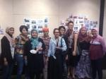 The ladies: Titis, Mayumi, Novi, Ari, Maya, Ita, Nissa, Atiek & Agung